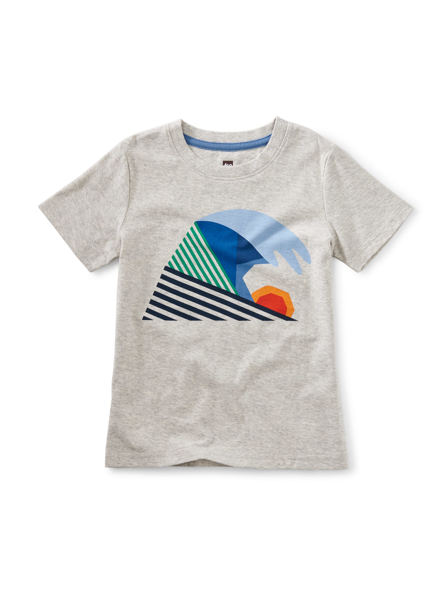 Tea Collection Wave Hello Graphic Tee