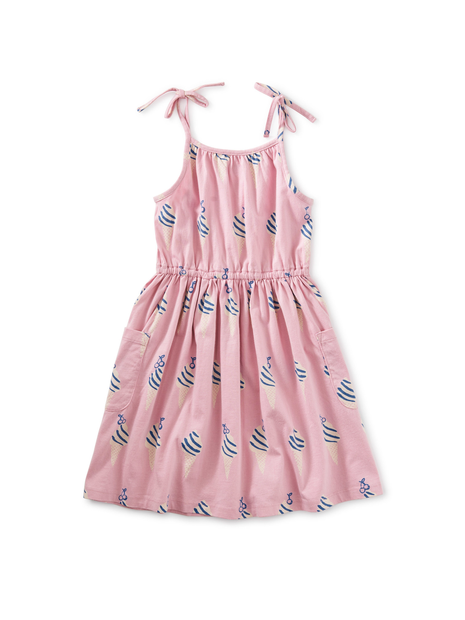 Tea Collection Tie Shoulder Dress
