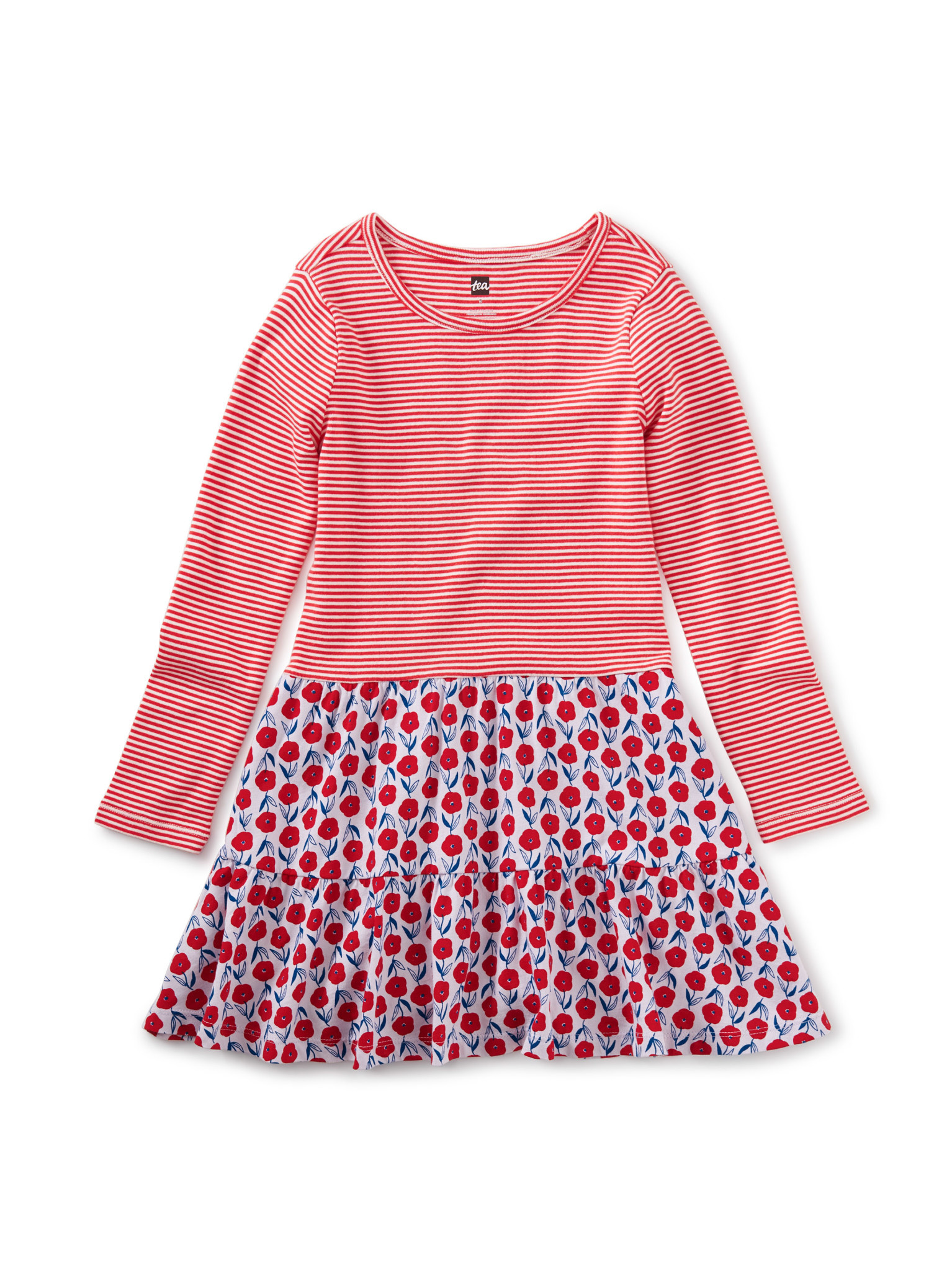 Tea Collection Tiered Skirted Dress