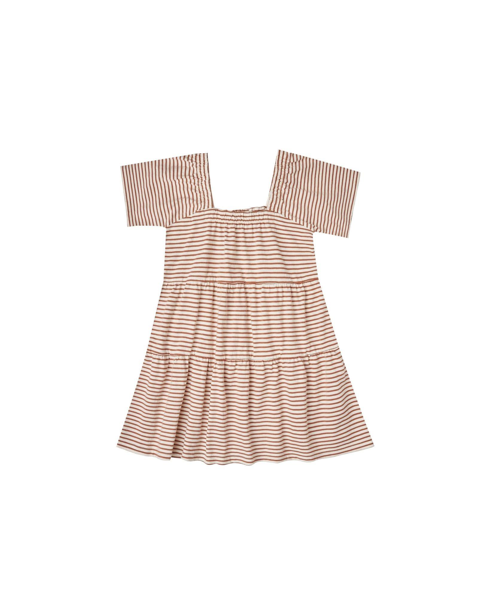 Rylee & Cru Amber Striped Agnes Dress