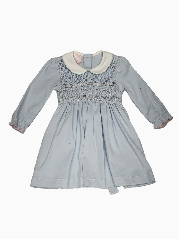 Petit Bebe Smocked Knit Dress