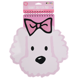 Iscream Puppy Love Giant Sketch Pad