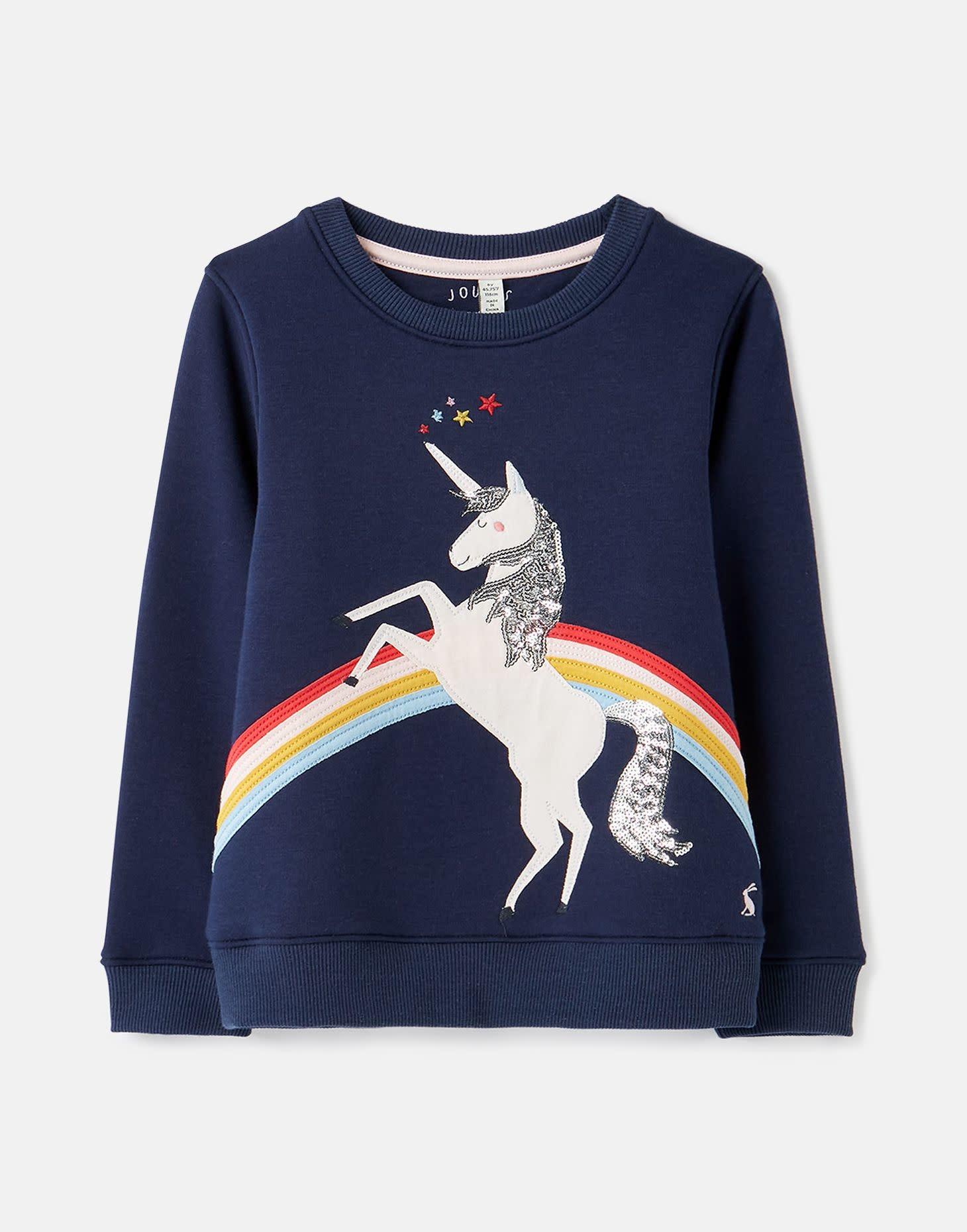 Joules Mackenzie Unicorn Sweatshirt
