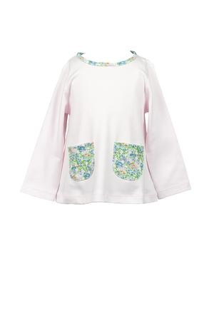 the proper peony Fall Floral Tunic Top
