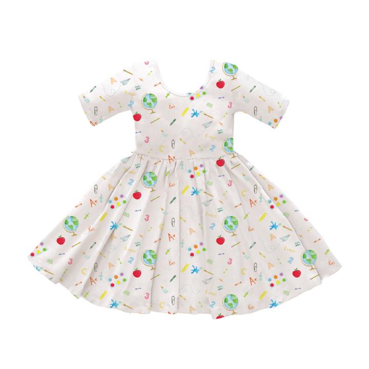 Nola Tawk Back to School Twirl Dress