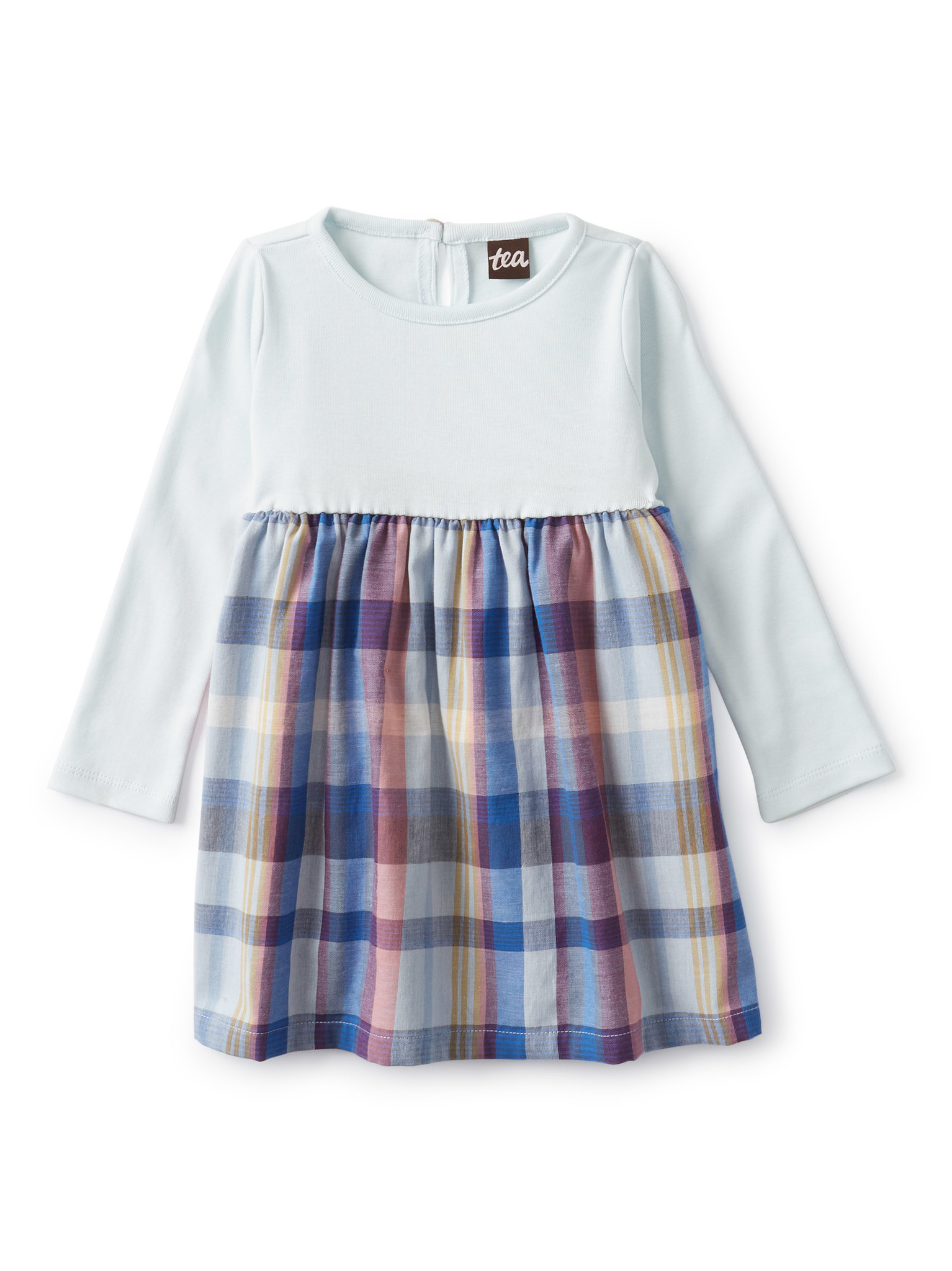 Tea Collection Two-Tone Baby Dress
