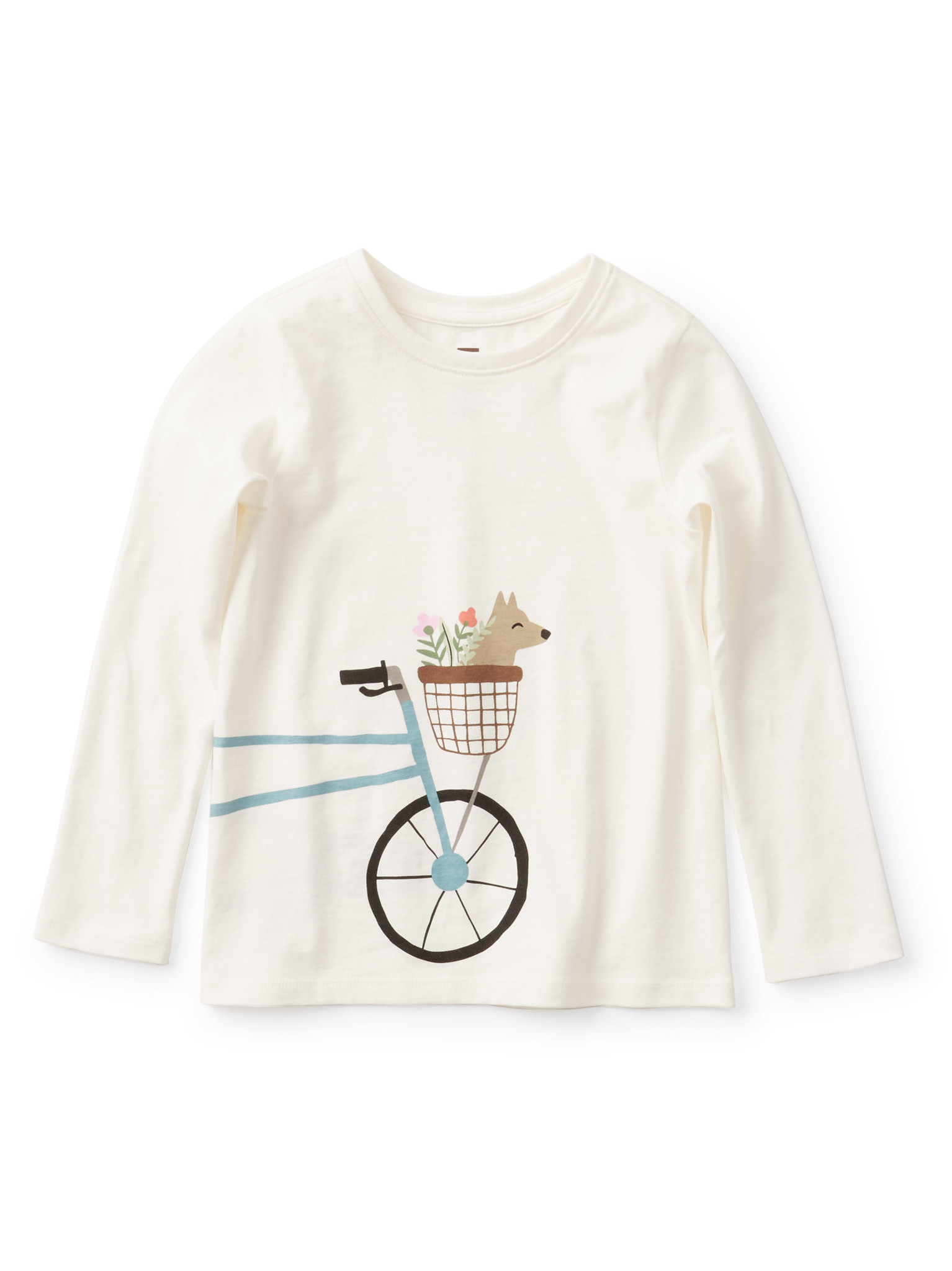Tea Collection Bicycle Graphic Tee