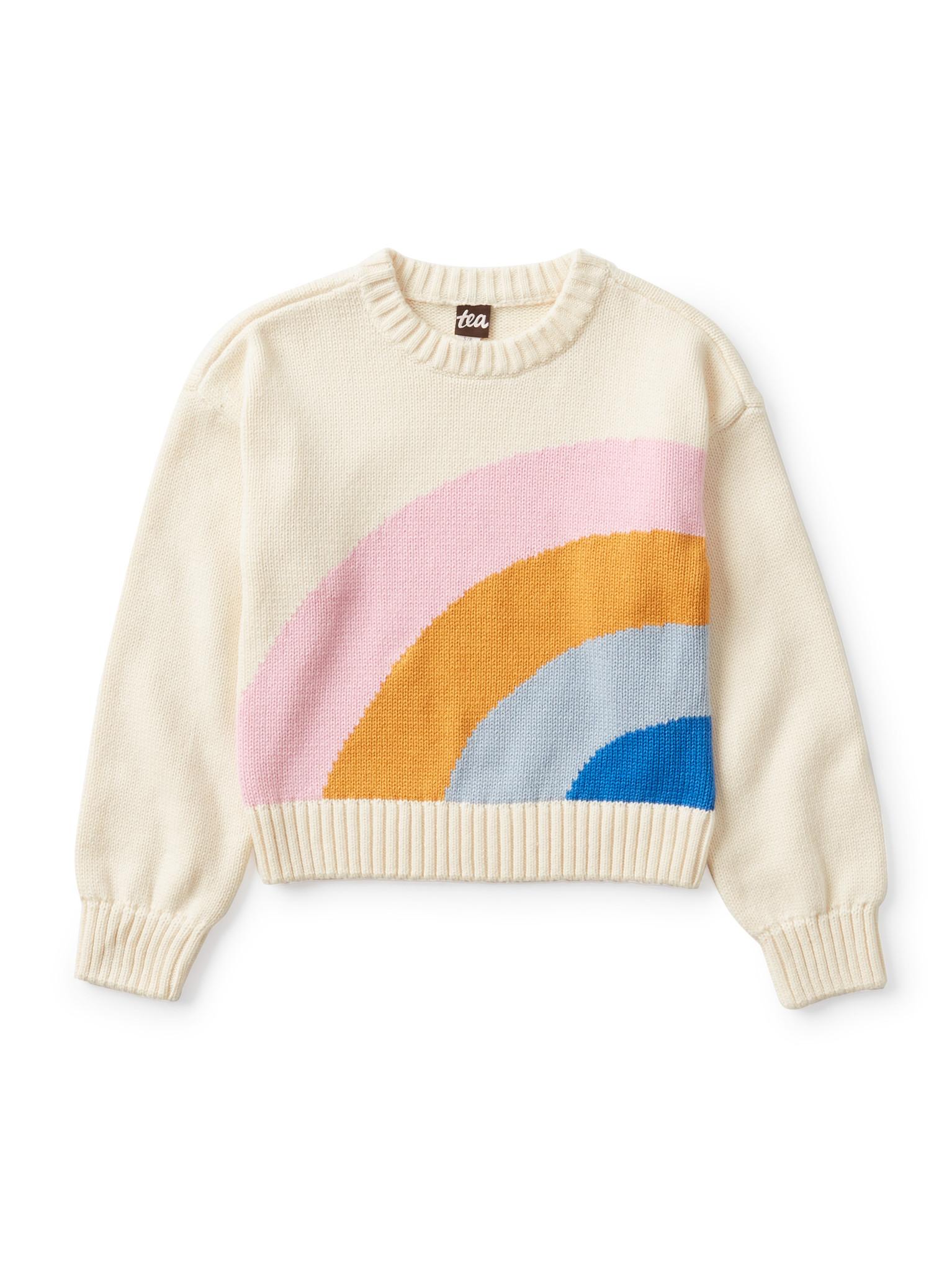Tea Collection Rainbow Sweater
