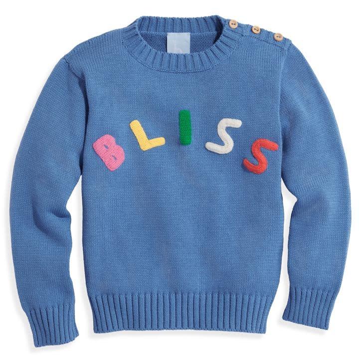bella bliss Bliss Applique Pullover