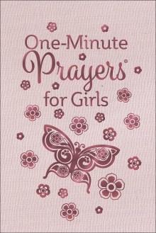 Harvest House One Minute Prayers for Girls