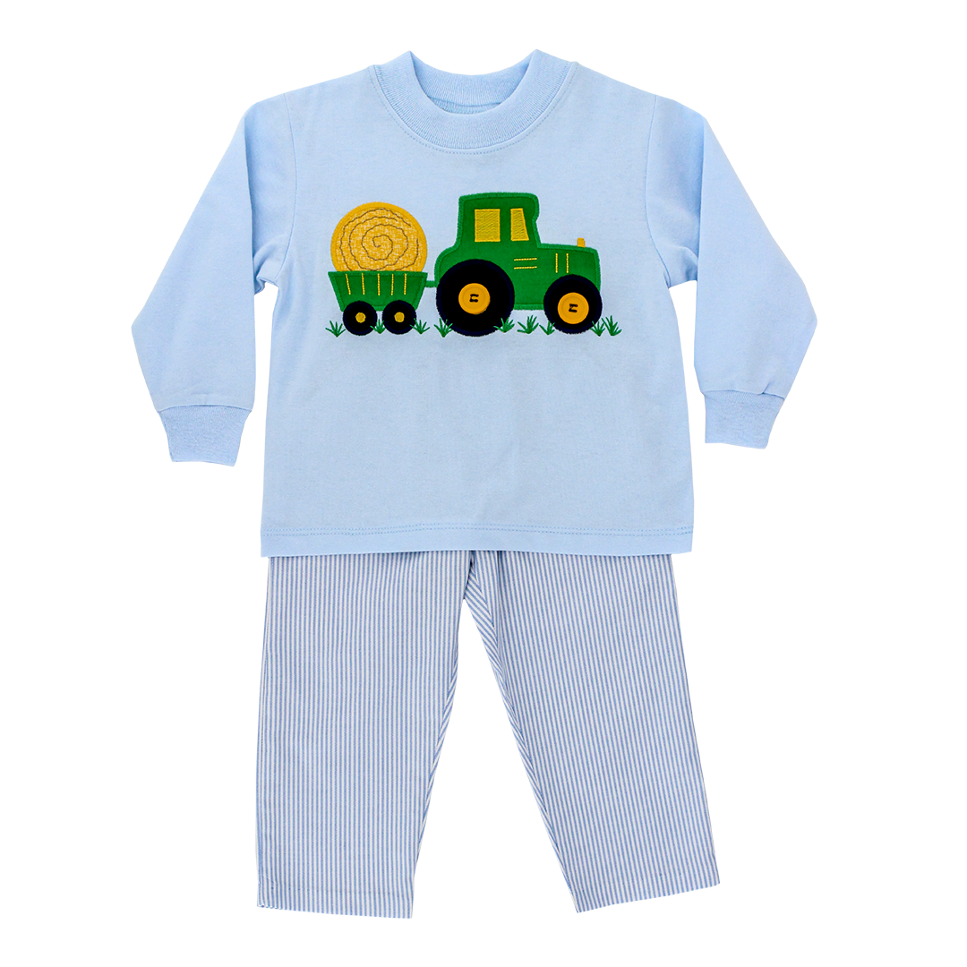 Bailey Boys Tractor Pant Set