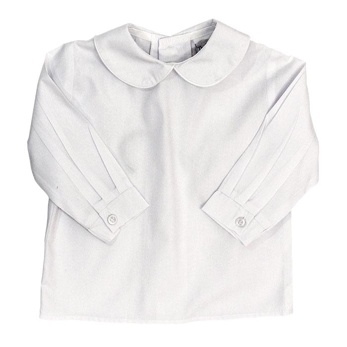Bailey Boys L/S Boy Button Back Piped Shirt