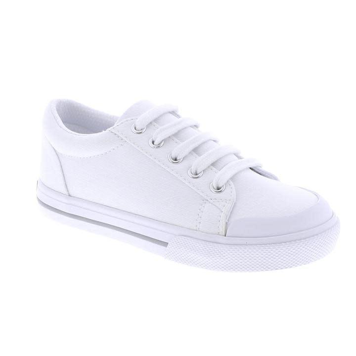 Footmates White Taylor Shoe