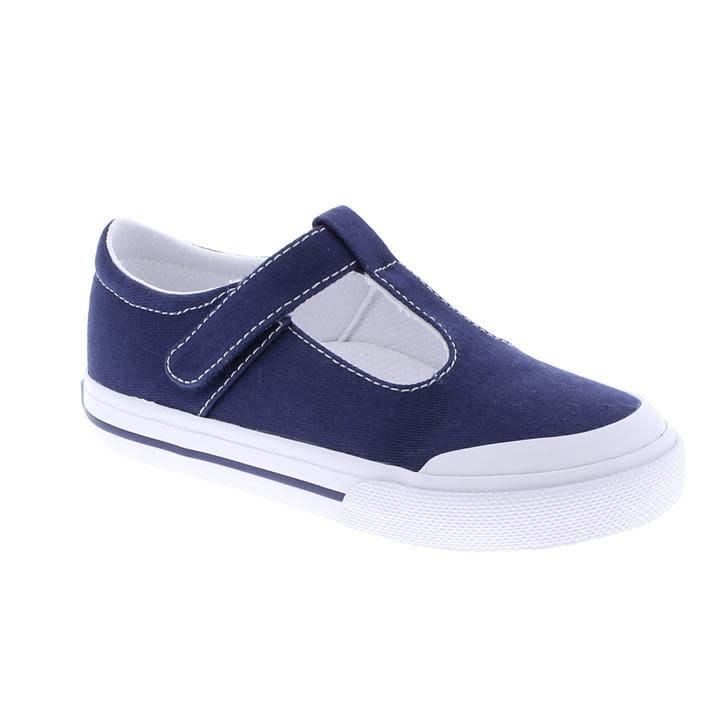 Footmates Navy Drew Shoe
