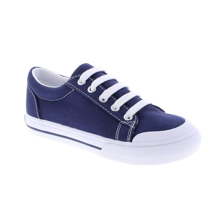 Footmates Navy Taylor Shoe