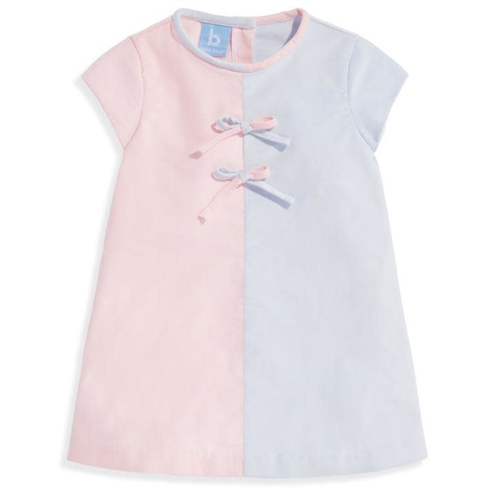 bella bliss Blush/Cloud Colorblock Dress