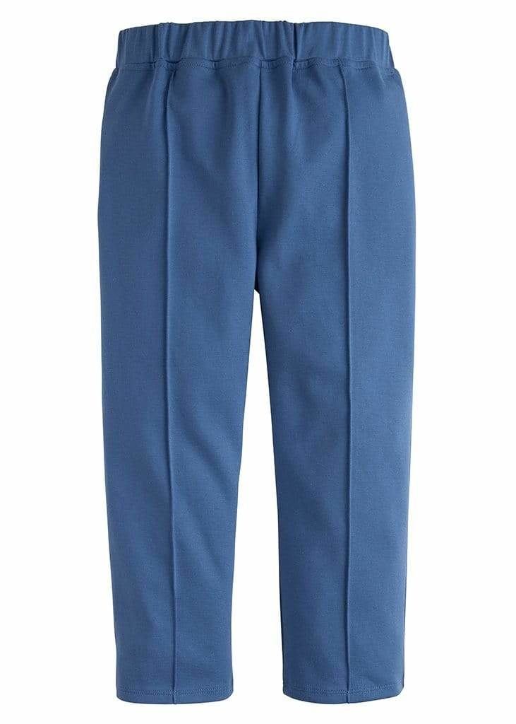 Little English Stormy Blue Ankle Pant