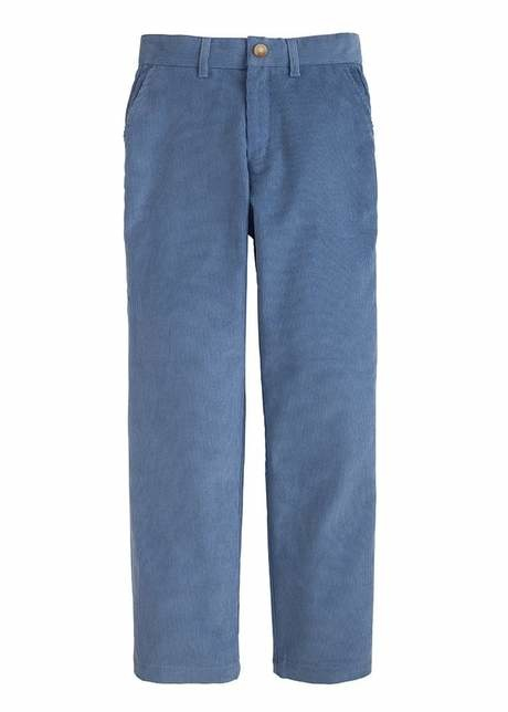 Little English Stormy Blue Cord Pant