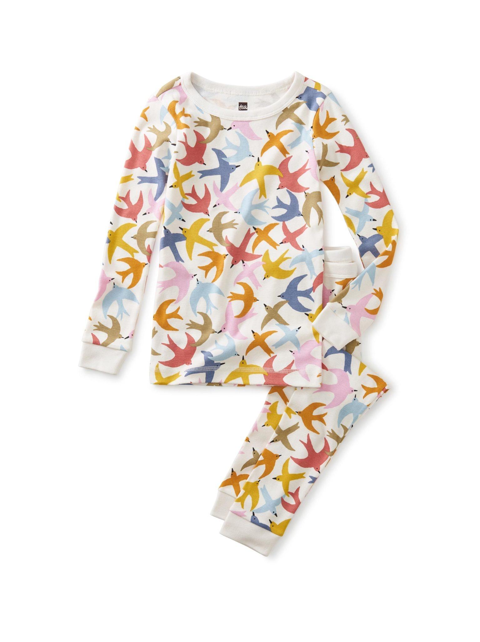 Tea Collection Brilliant Birds Pajamas