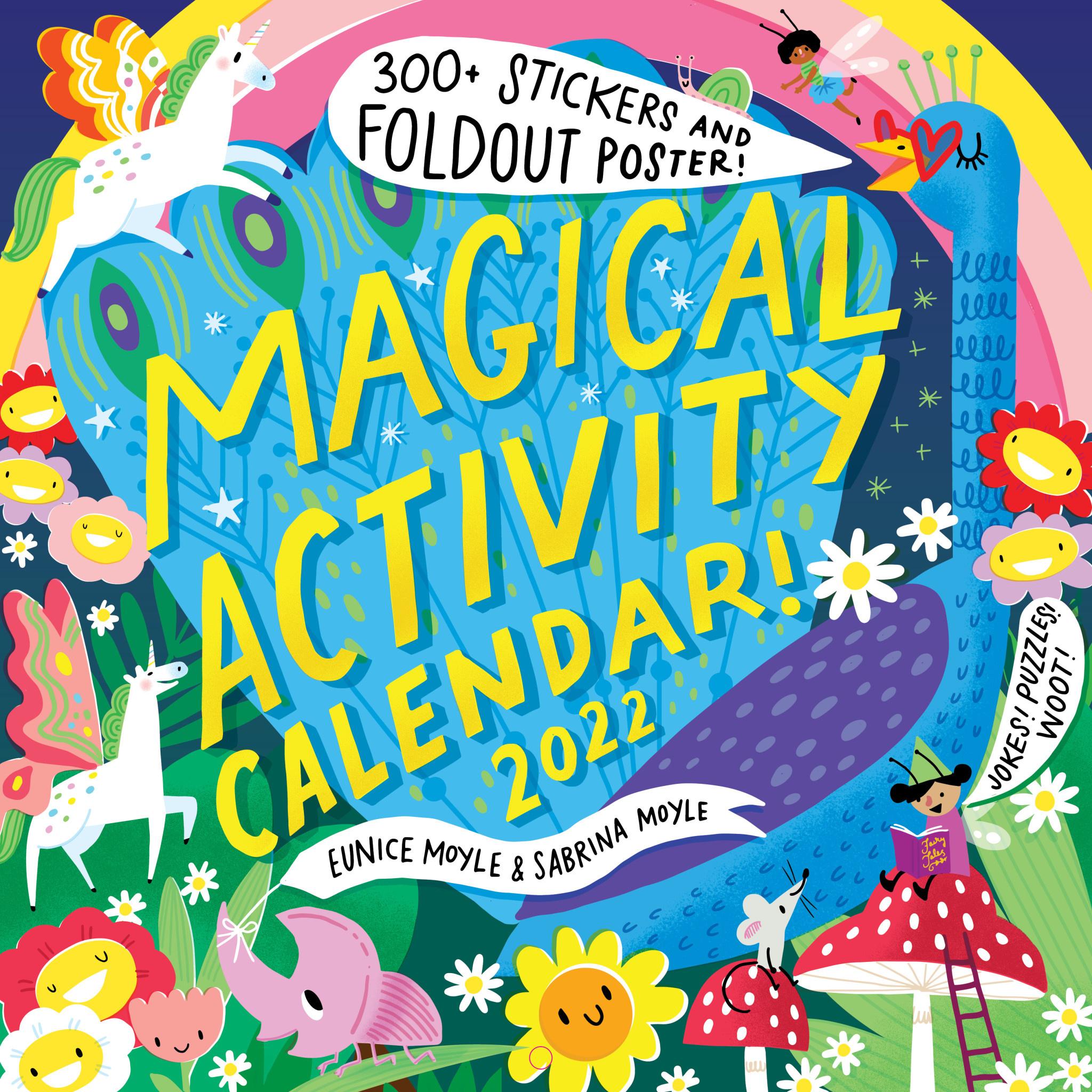 workman publishing Magical Activity Calendar