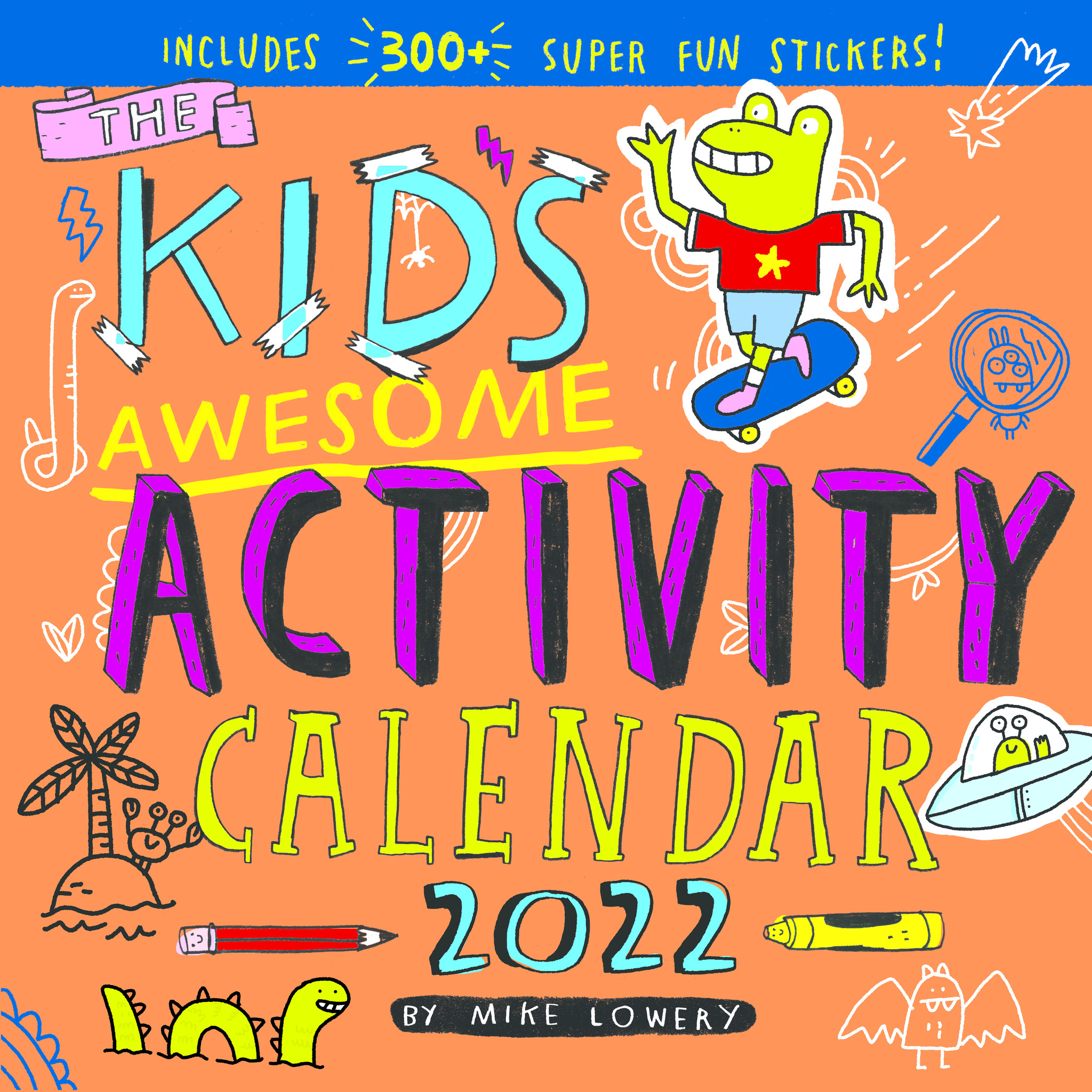 workman publishing Kid's Awesome Activity Calendar