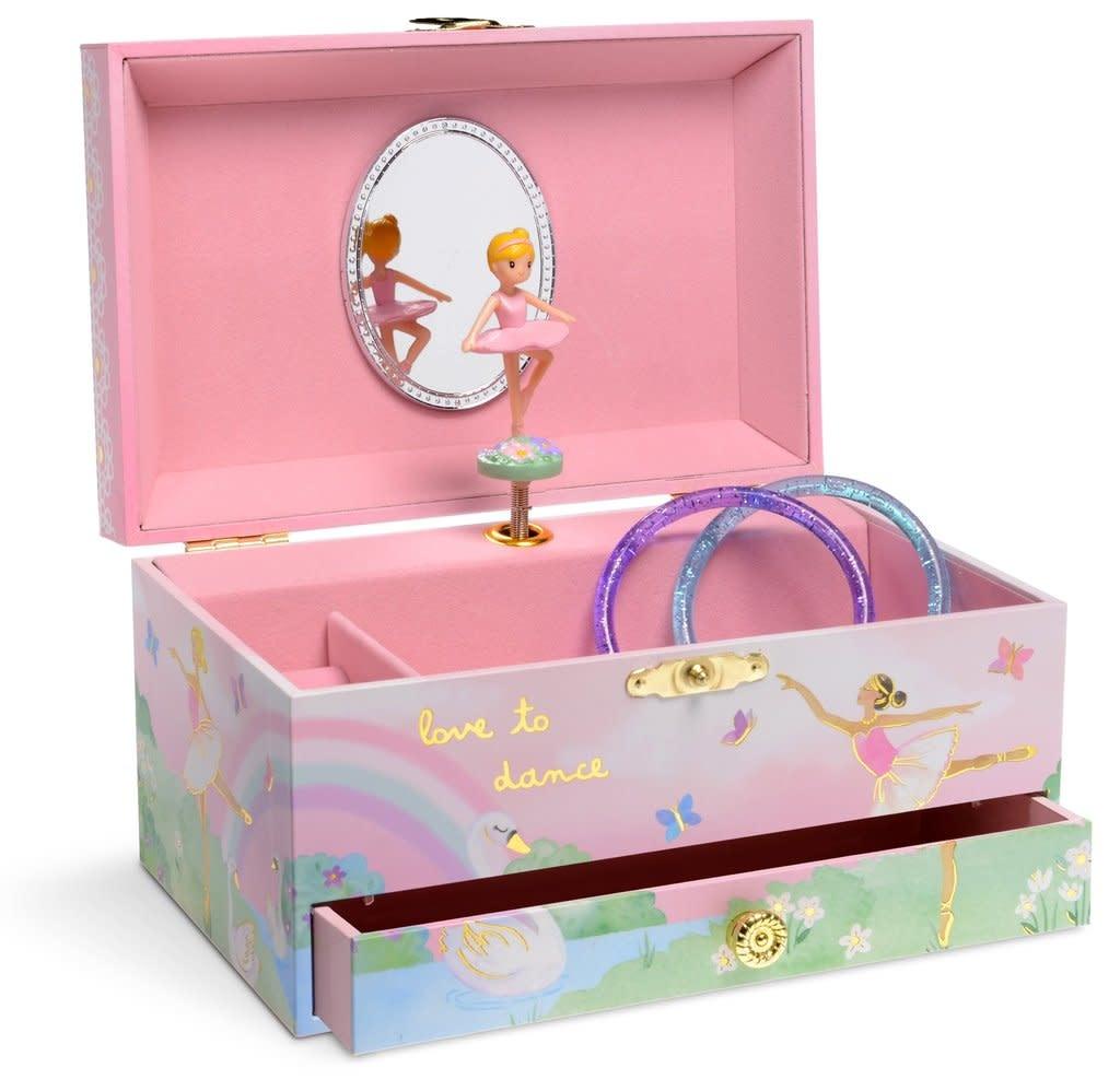 Jewelkeeper Musical Jewelry Box w Drawer
