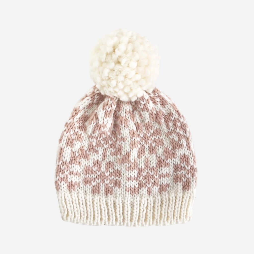 The Blueberry Hill Blush Snowfall Hat