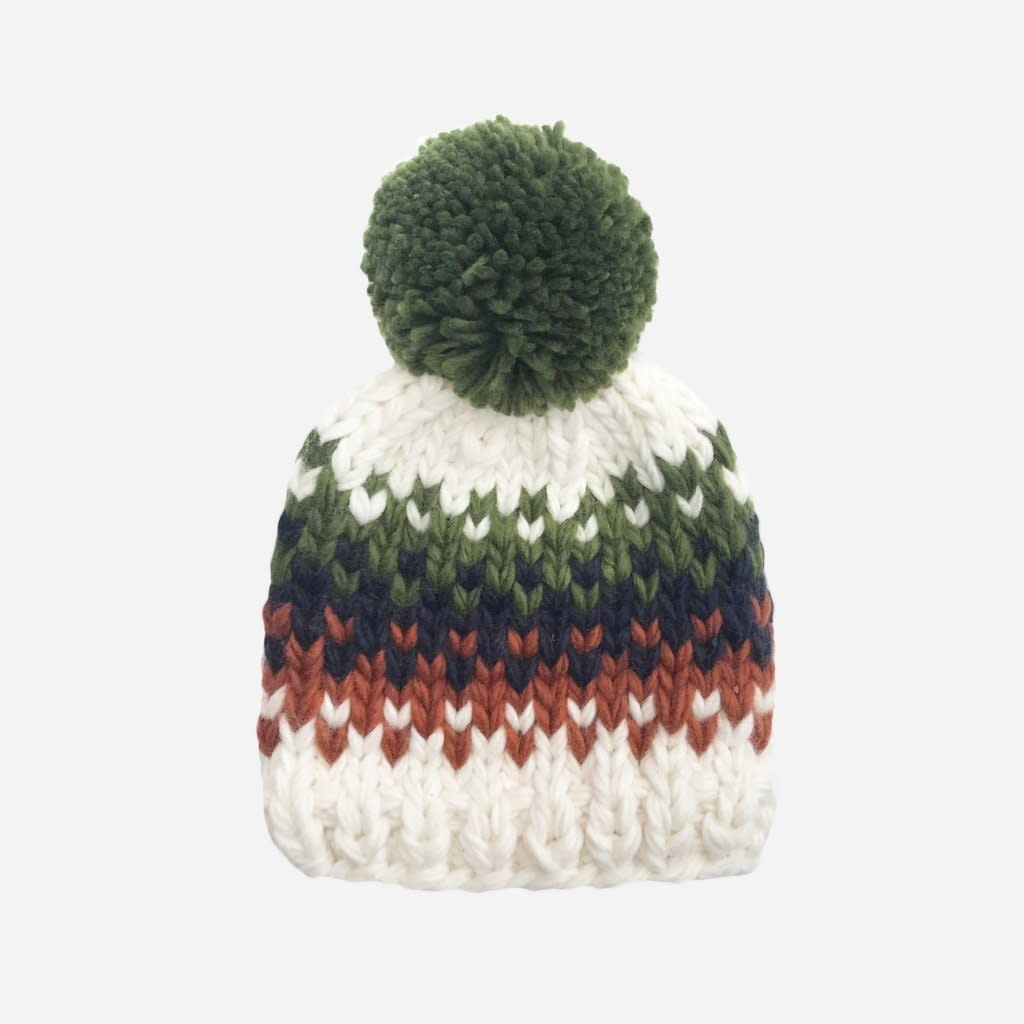 The Blueberry Hill Olive Will Stripe Hat