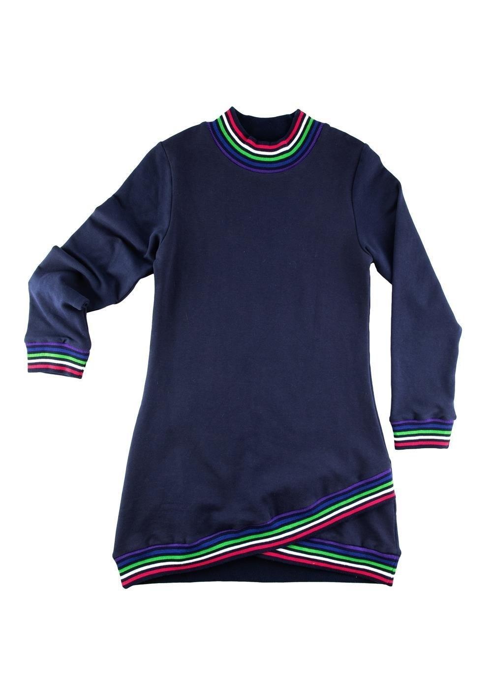 Florence Eiseman Knit Sweatshirt Dress