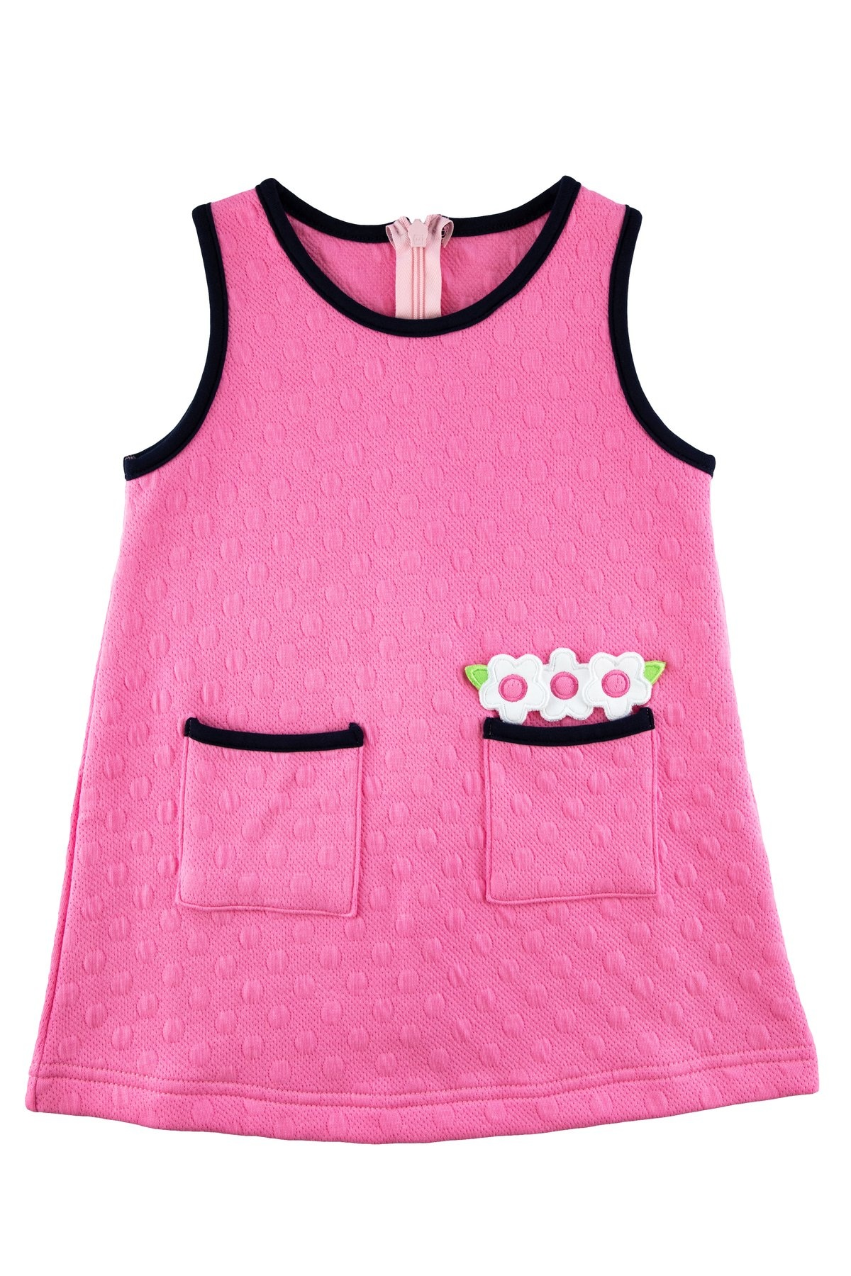 Florence Eiseman Pink Textured Knit Jumper