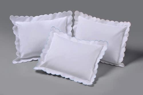 Edward Boutross Scallop Pillow 10x14