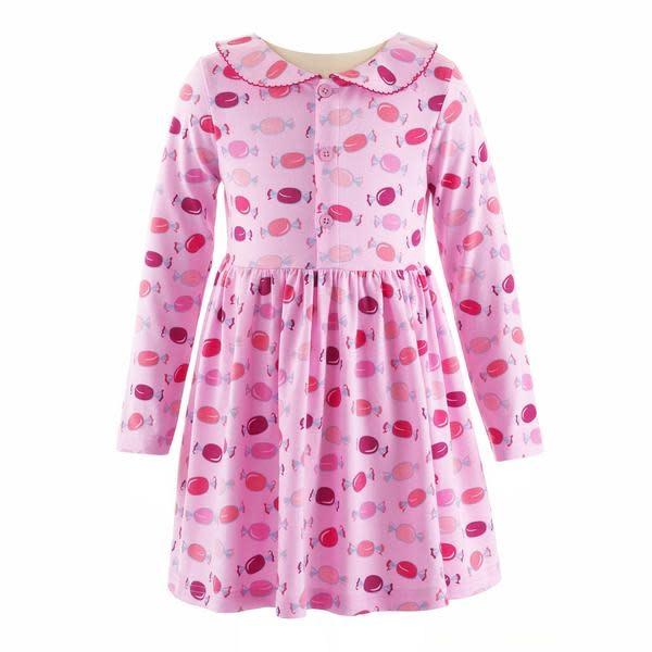 Rachel Riley Pink Sweetie Jersey Dress