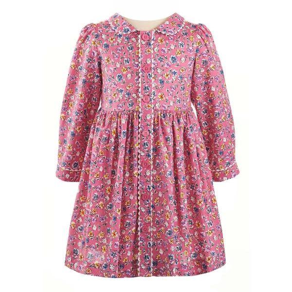 Rachel Riley Flower Garden Button Front Dress