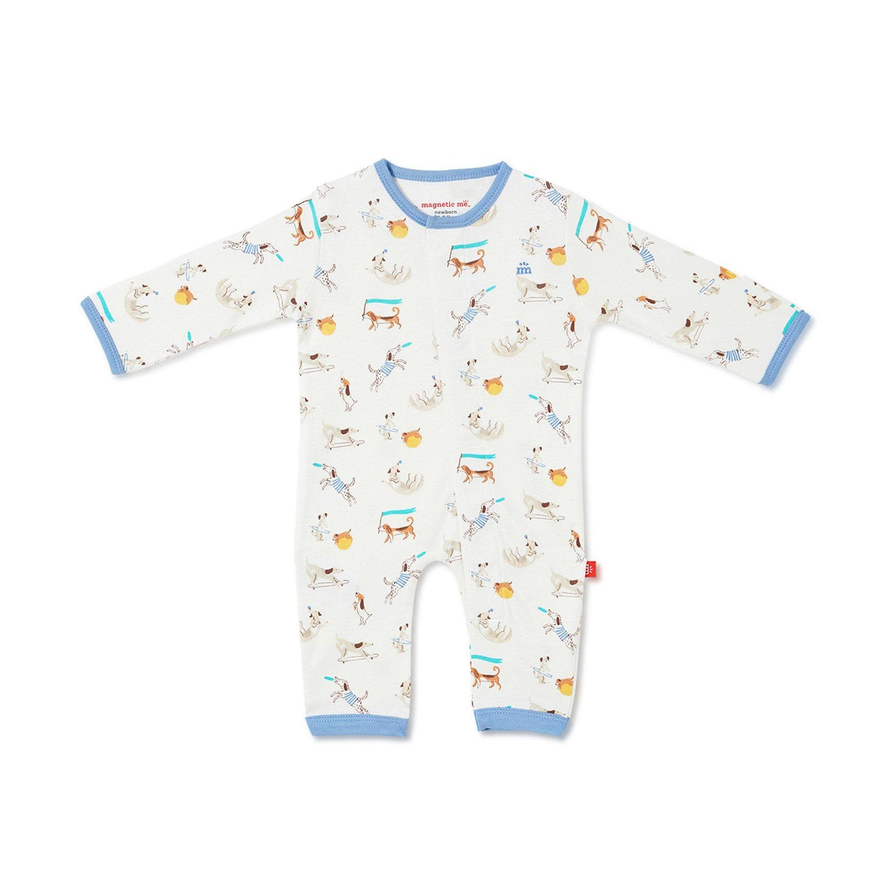 Magnificent Baby Howlarious Organic Coverall