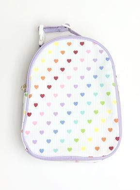 Mint Tiny Hearts Gumdrop Lunch Box