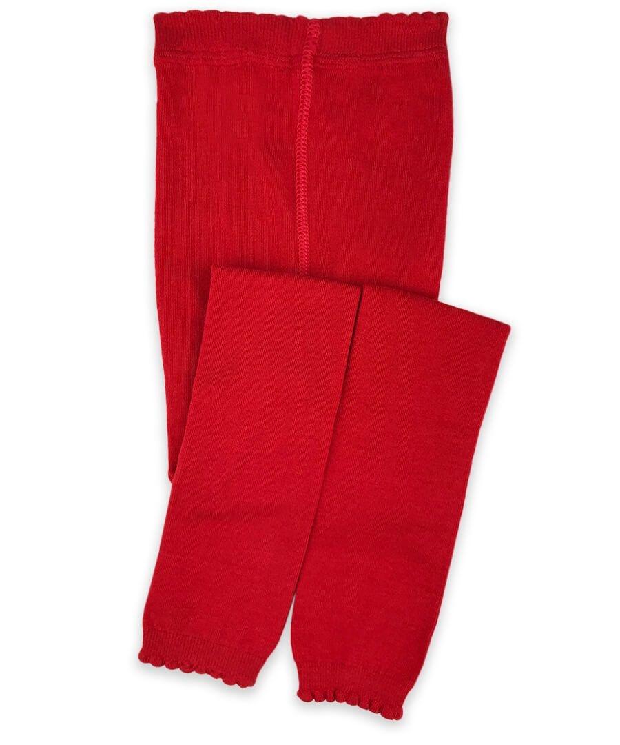 Jefferies Socks Scalloped Pima Footless Tights