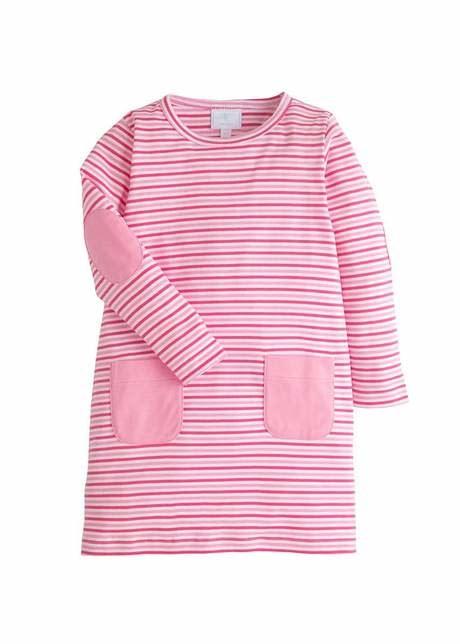 Little English Pink Stripe North Rivers Dress