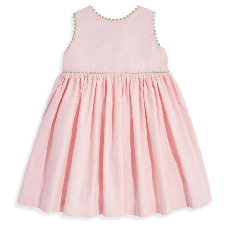 bella bliss Blush Cord Button Back Dress