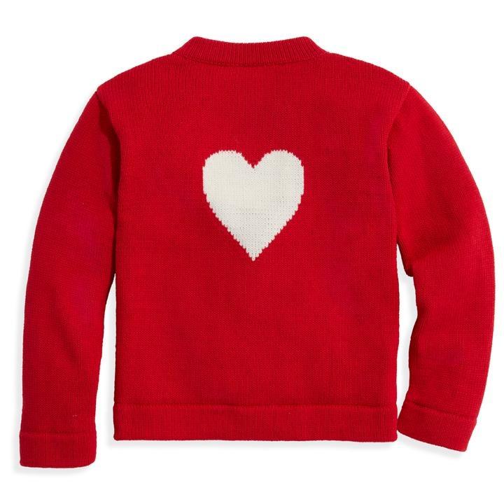 bella bliss Red Heart Mae Cardigan