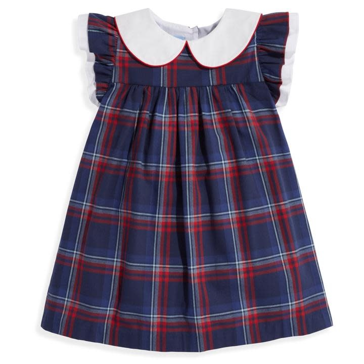 bella bliss Calvary Plaid Kitt Dress