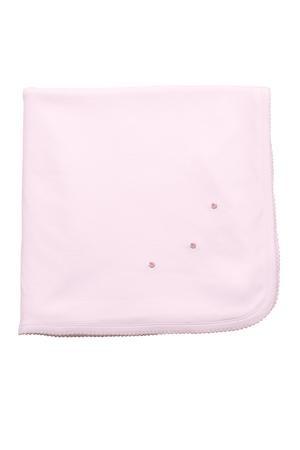 the proper peony Knit Blanket
