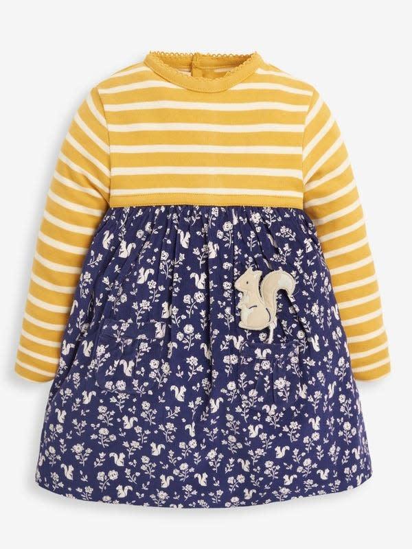 JoJo Maman Bebe Squirrel Print Dress