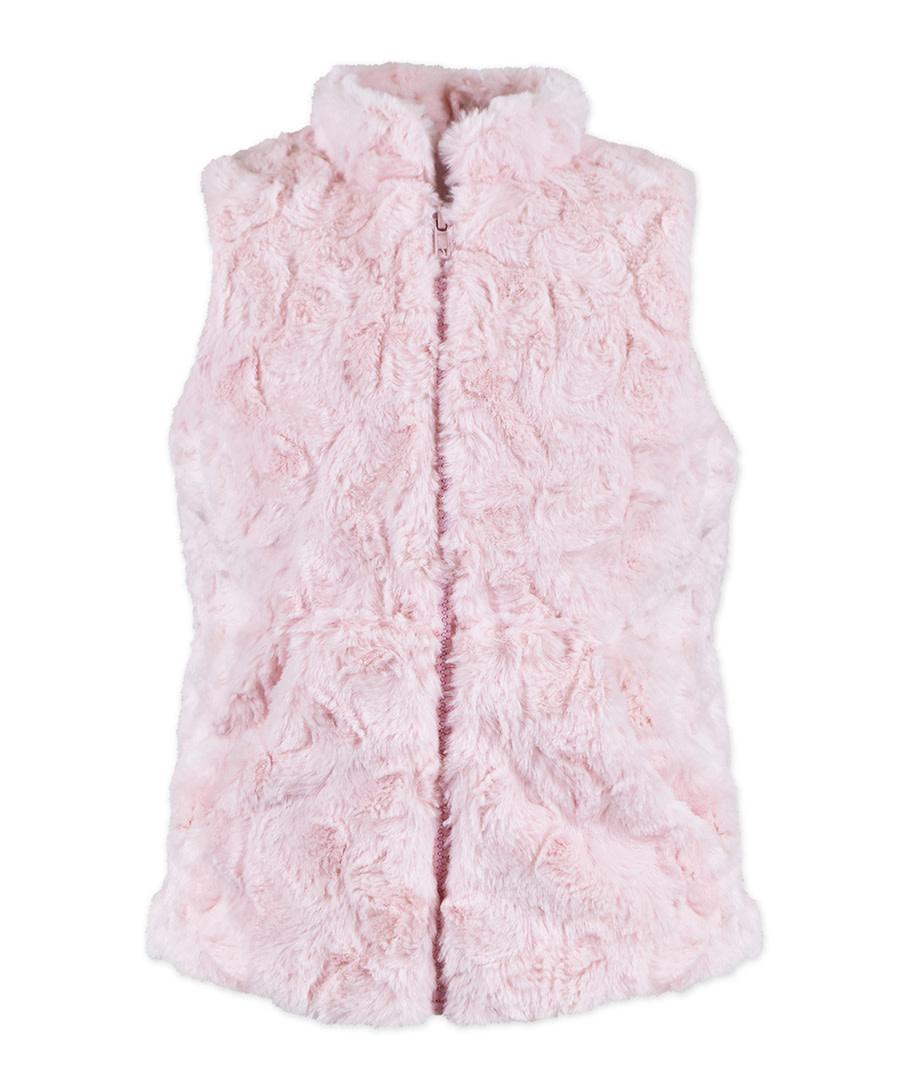 Widgeon Pink Zip Front Vest