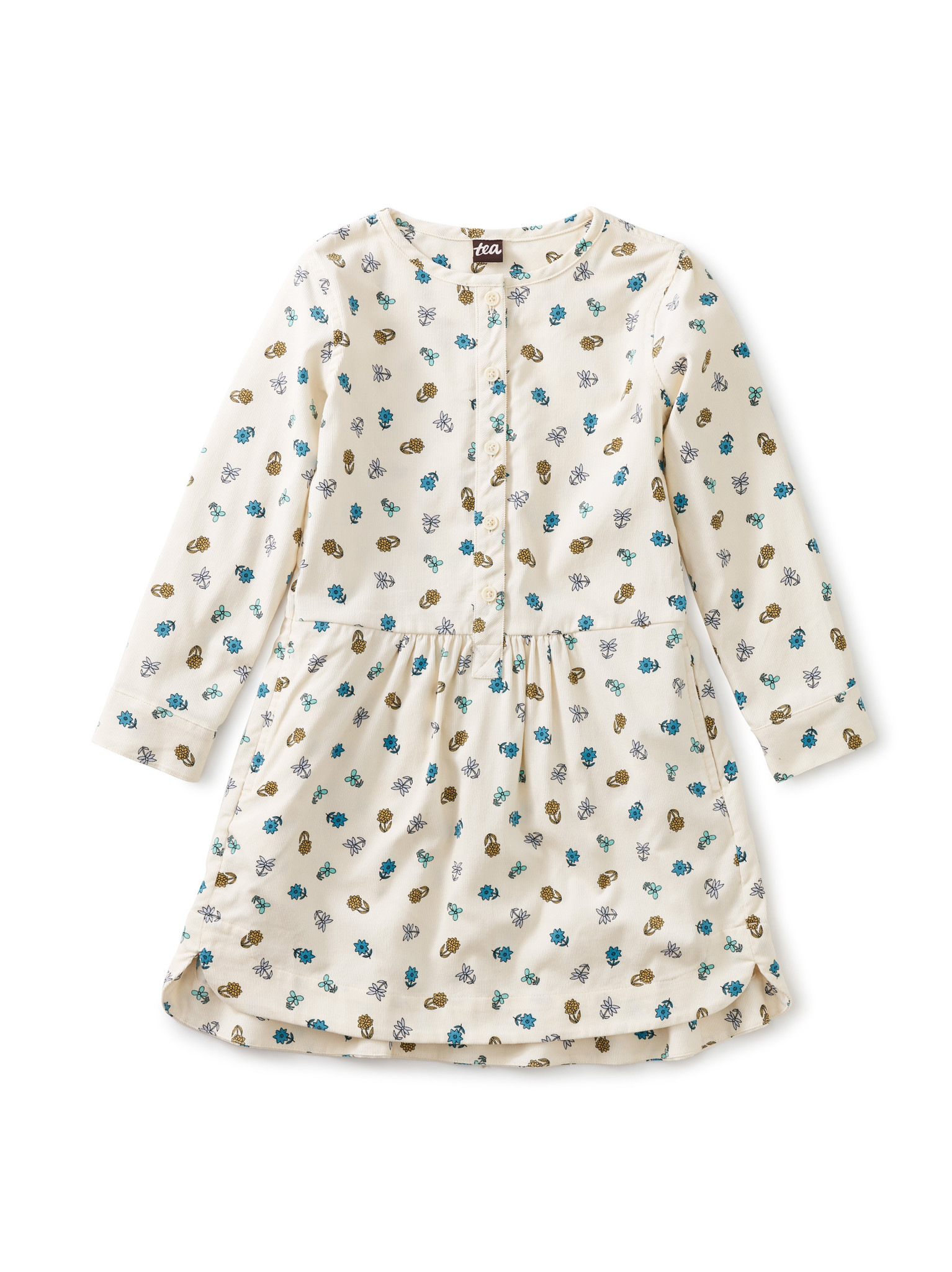 Tea Collection White Starry Shirtdress