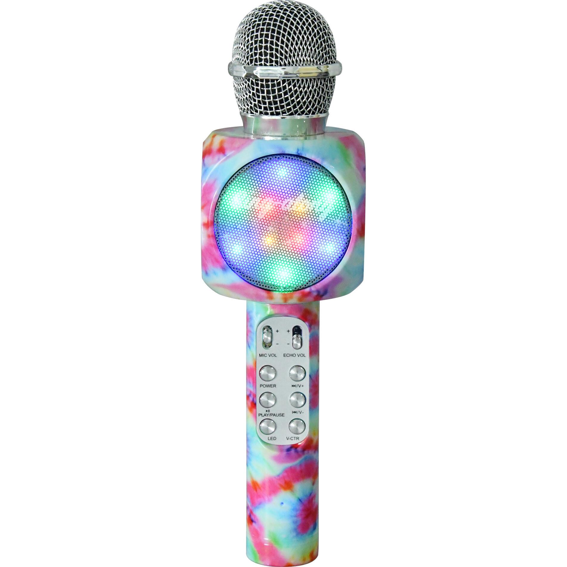 Wireless Express Tie Dye Karaoke Microphone
