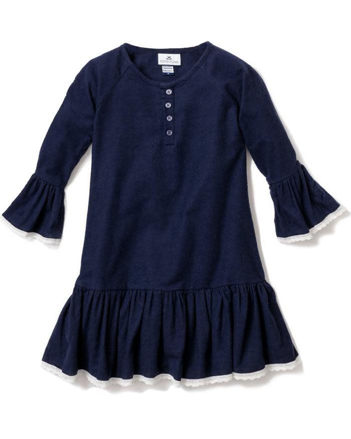 Petite Plume Navy Arabella Nightgown