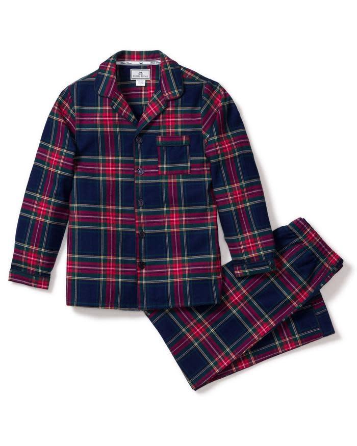 Petite Plume Windsor Tartan Pajama