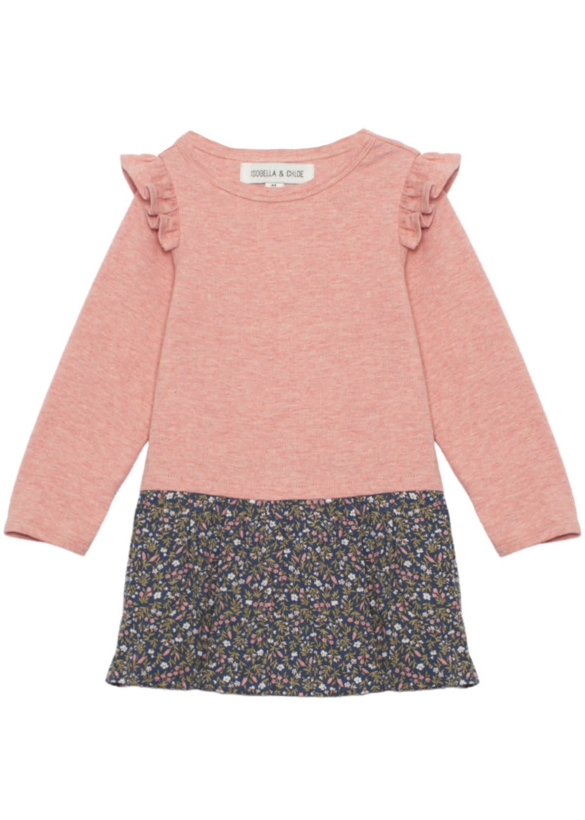 Isobella & Chloe Blossom Knit Dress