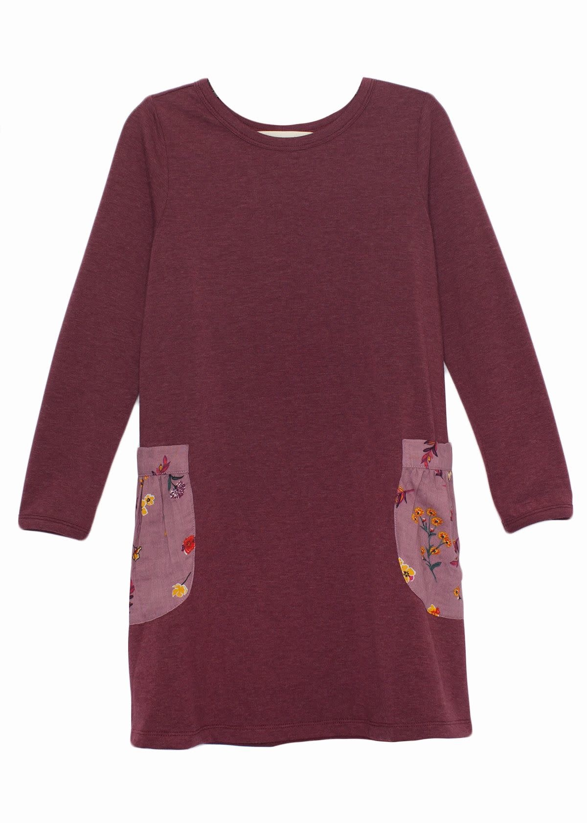 Mabel and Honey Fall Bloom Knit Dress