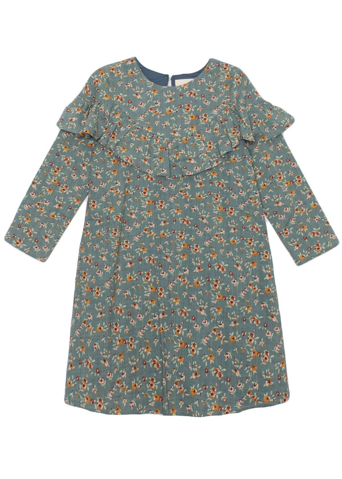 Mabel and Honey Green Floral Dress